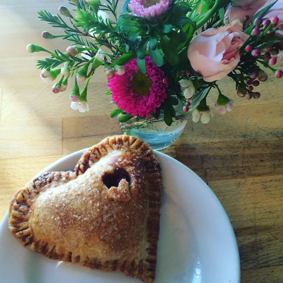 Cherry Hand Pie at The Village Bakery and Cafe  los angeles best pies