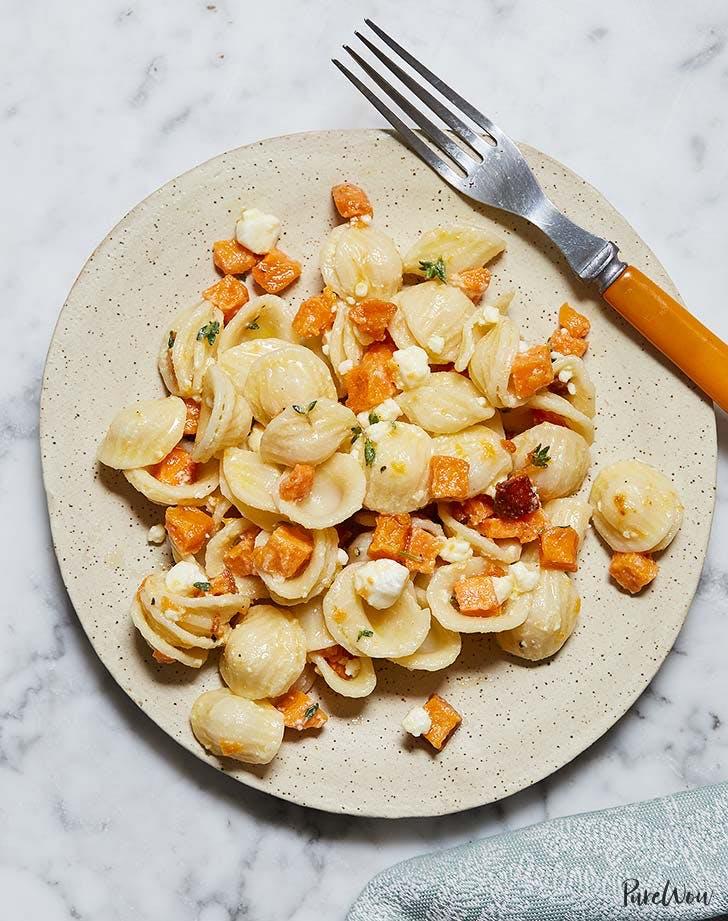 butternut squash pasta salad vertical