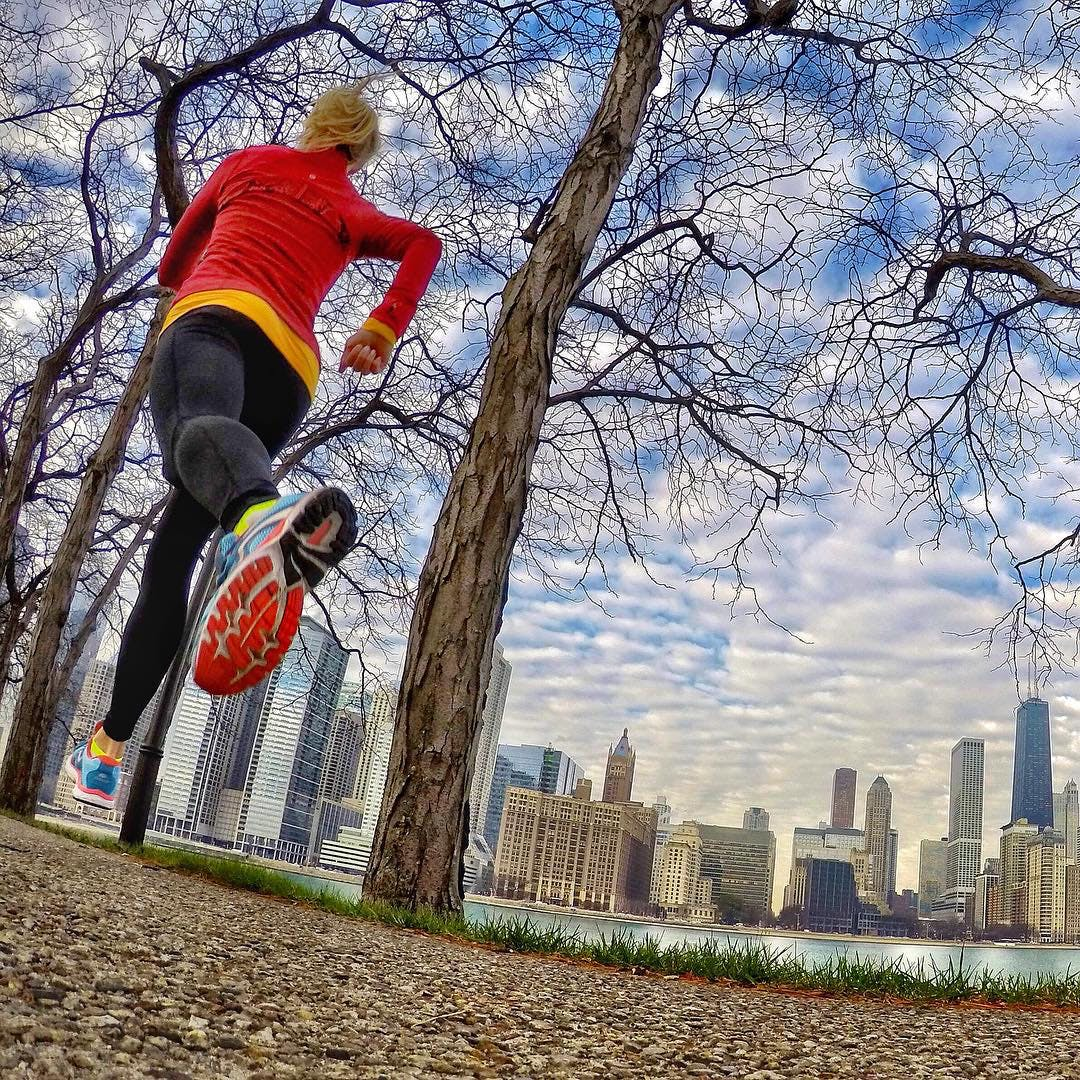 chicago winter running 1