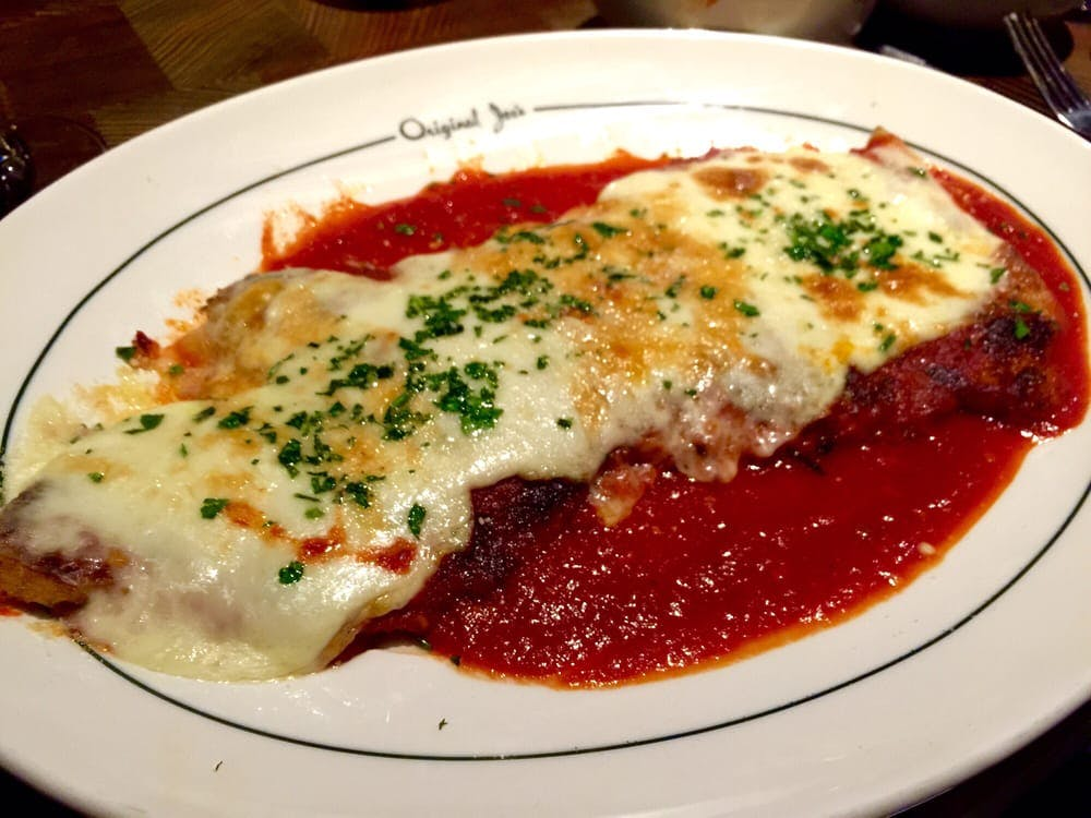 chicken parm original joes san francisco iconic foods