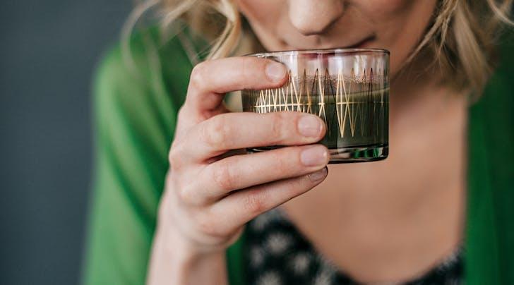 I Drank Chlorophyll to Get Clearer Skin (and Something Else Happened)