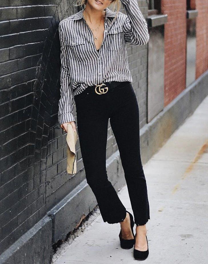 flatter waist stripes