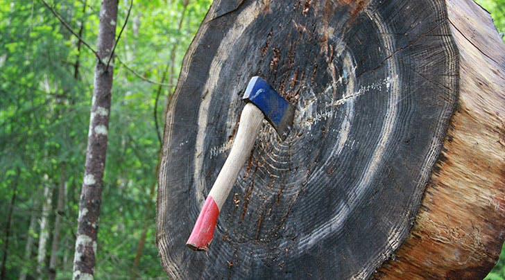 Hatchet Throwing Is the Newest Workout Trend (and Were Kinda Scared to Try It)