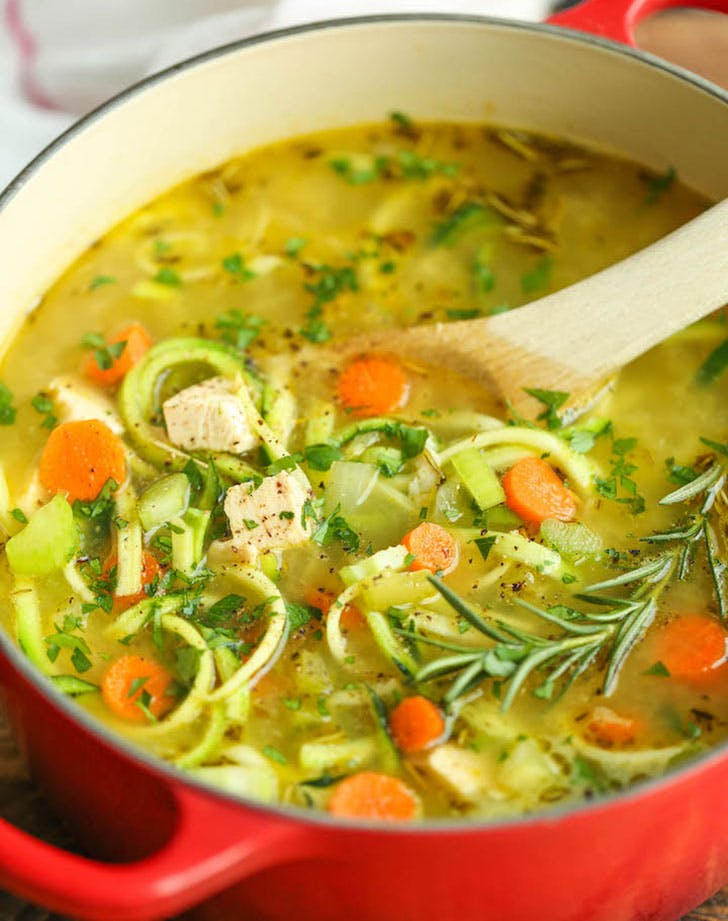 healthy comfortfood zoodlesoup