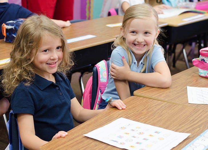 kids girl smiles