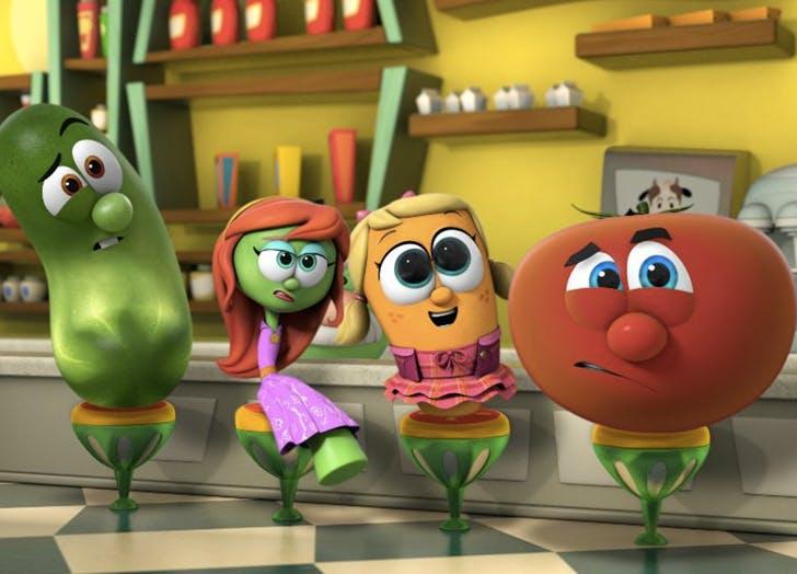 kids shows veggietales