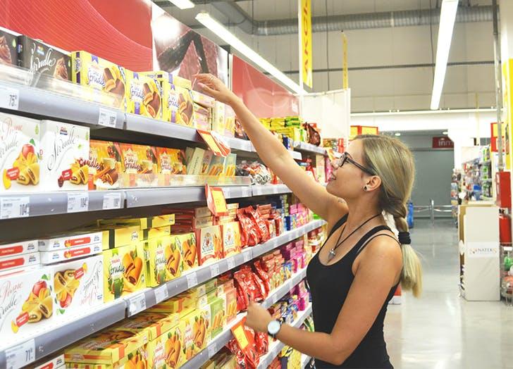 save groceries