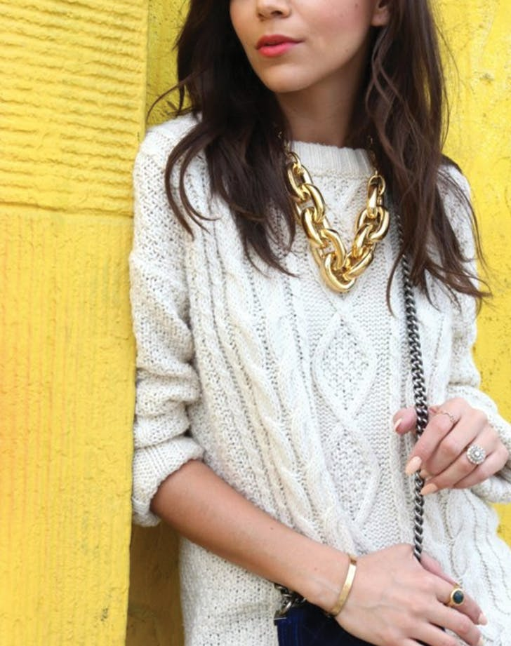 spring jewelry chunky