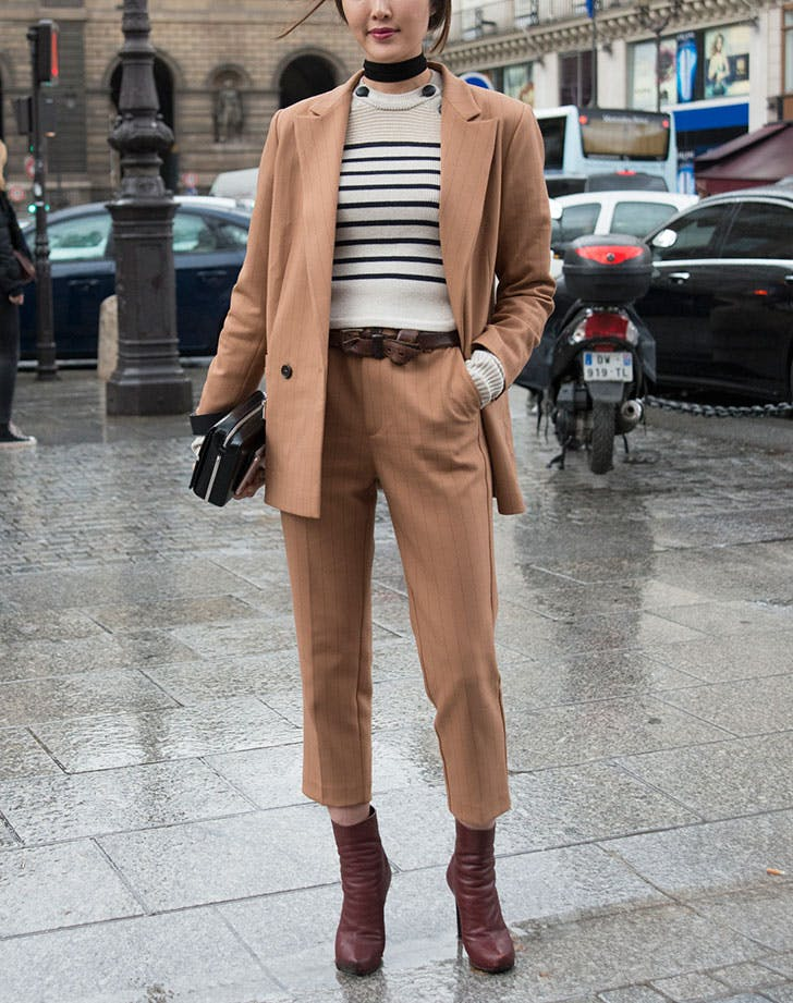 suit striped