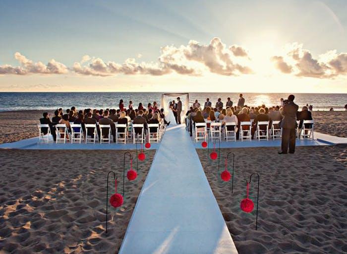 the sunset restaurant la wedding venues