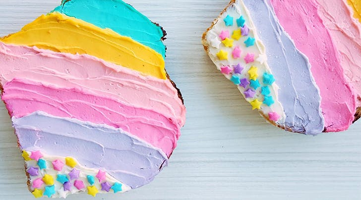 Unicorn Toast Is About to Become Your Kid's Favorite Food