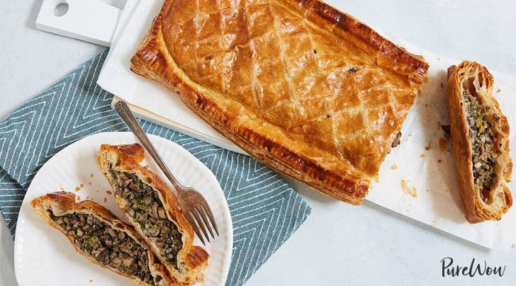 Vegetable Wellington with Mushrooms and Spinach